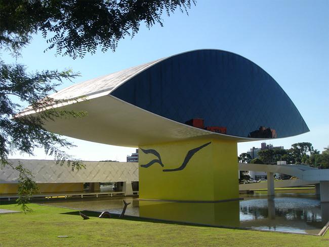 Oscar Niemeyer Museum (NovoMuseu), Curitiba, Brazil