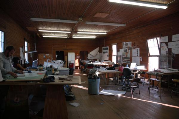 Photo of the Rural Studio by the Center for Land Use Interpretation