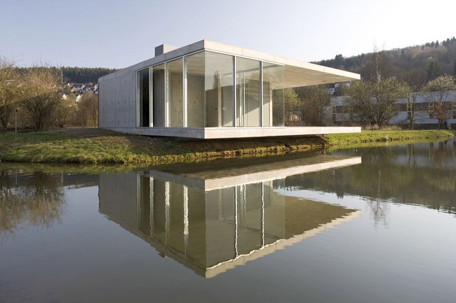 Pavilion in Siegen, Germany by Ian Shaw Architekten (Photo: Felix Krumbholz)