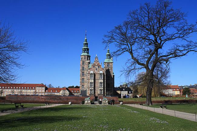 Rosenborg Castle courtyard