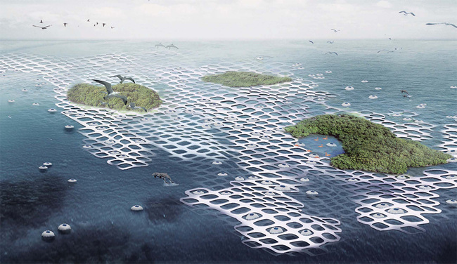 Special Mention: ALTERNATIVE HOUSING INFRASTRUCTURE: Floating Nets by Ci Chen, Youchun Shi, Wenjuan Zhou, & Wenhan Hu (China)