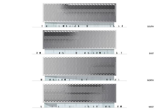 Elevations (Image: HENN)
