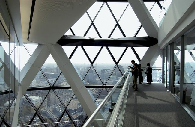 'The Gherkin', Open House London 2015, Image: Nigel Young/Foster + Partners
