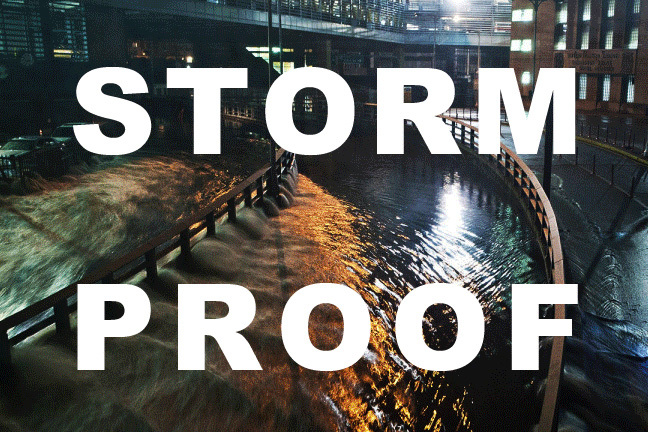 STORMPROOF was the theme of the ONE Prize 2013 international design competition