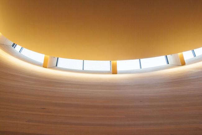 Chapel of Silence light details