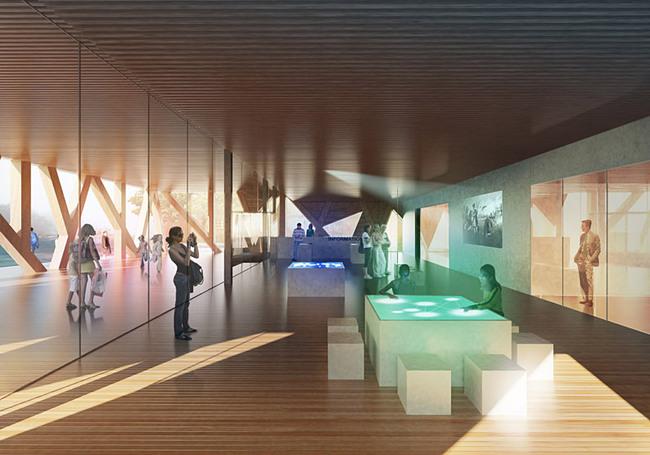 Interior rendering (Image: CEBRA)