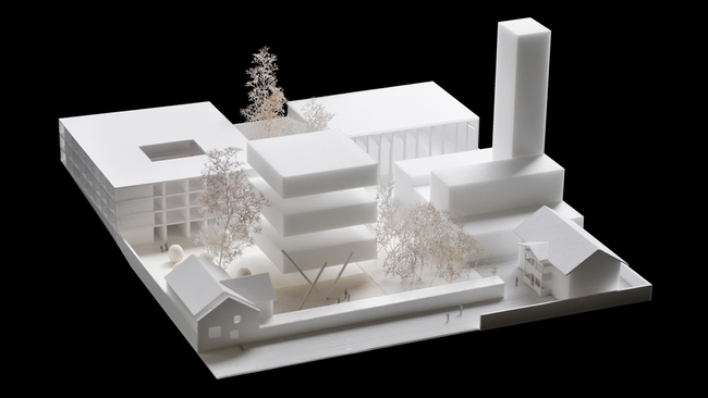 Hortus conclusus - Urban Ensemble. Image: alvarez ouburg architects