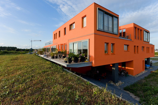 Villa Overgooi in Almere Overgooi, the Netherlands by NEXT architects