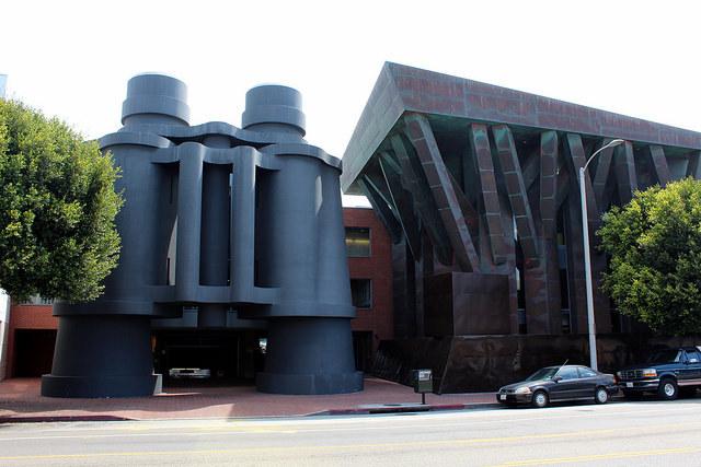 Frank Gehry's Binoculars Building in Venice Beach, California. Photo by Wally Gobetz, via flickr.