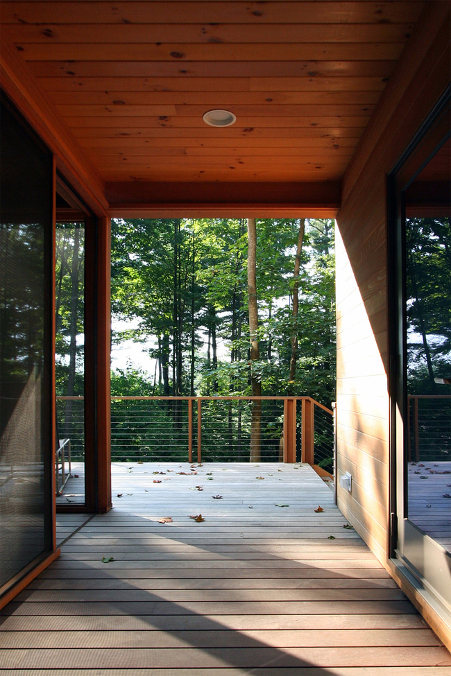 Berkshire House in West Stockbridge, MA by Resolution: 4 Architecture; Photo: RES4