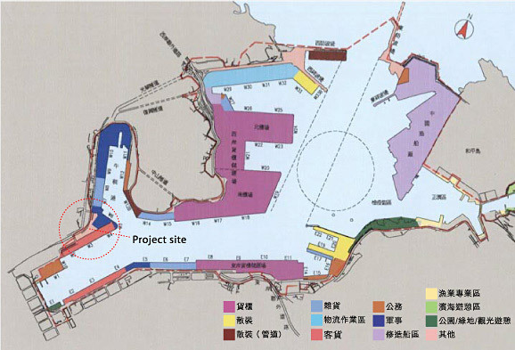 Site plan (image via the competition website)