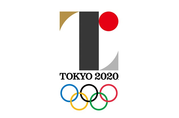 The Tokyo Games' initial winning logo, which was later scrapped following charges of plagiarism. Image via sportingnews.com.