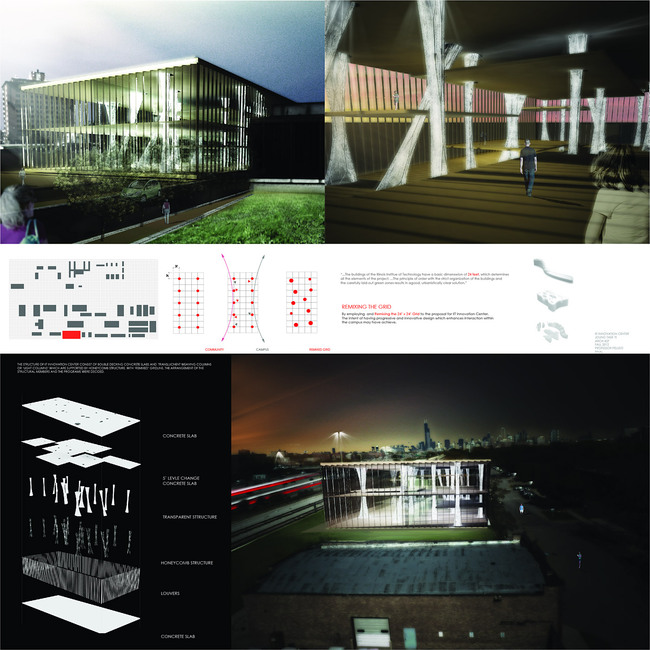 "Honorable Mention: Joungtaek Yi - ""Remixing the IIT Grid"""