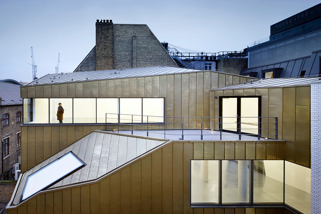 Two Tabernacle Street in London, UK by Piercy&Company; Photo: Jack Hobhouse