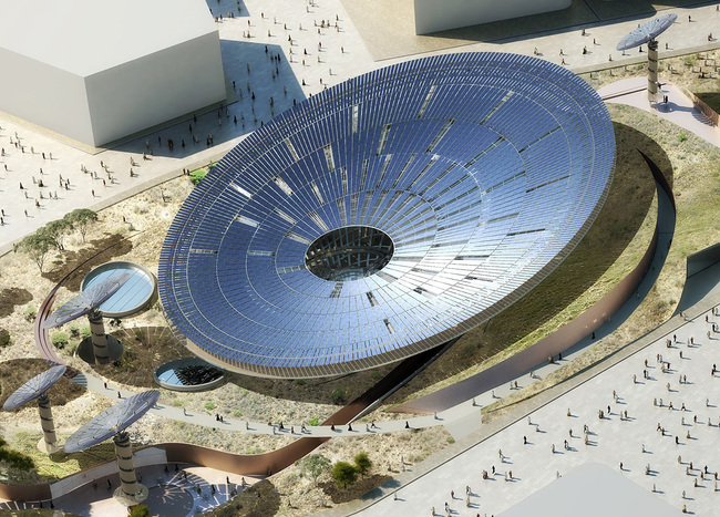 Grimshaw's winning Sustainability Pavilion proposal for the 2020 World Expo in Dubai.