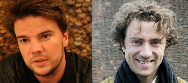 Bjarke Ingels and Thomas Heatherwick.
