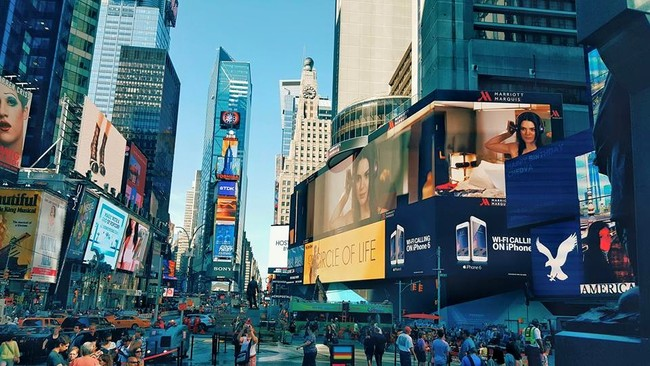 Photo via Times Square NYC.