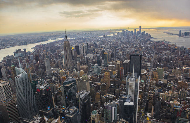 The airspace over Manhattan is getting increasingly crowded. Photo: Anthony Quintano/Wikipedia