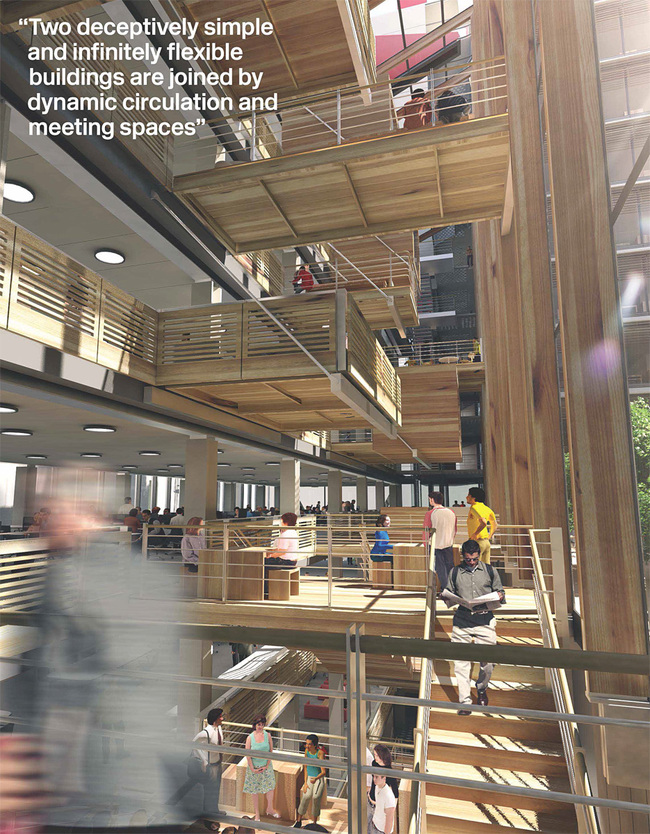 Active atrium space