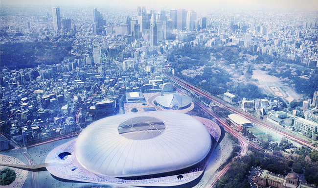 Tabanlioglu Architects Consultancy Limited Company (Image: Japan Sport Council)