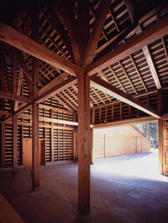 Equipment Shed in San Juan Island, WA by Charles Rose Architects