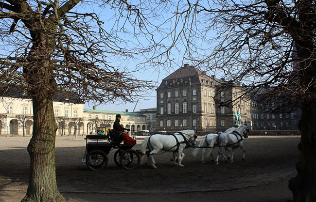 Christiansborg Palace Square