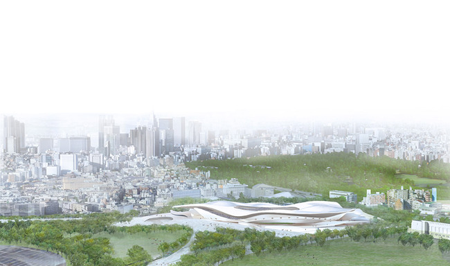 SANAA + Nikken Sekkei Ltd (Image: Japan Sport Council)