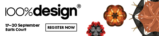 Register now for 100%DESIGN 2014