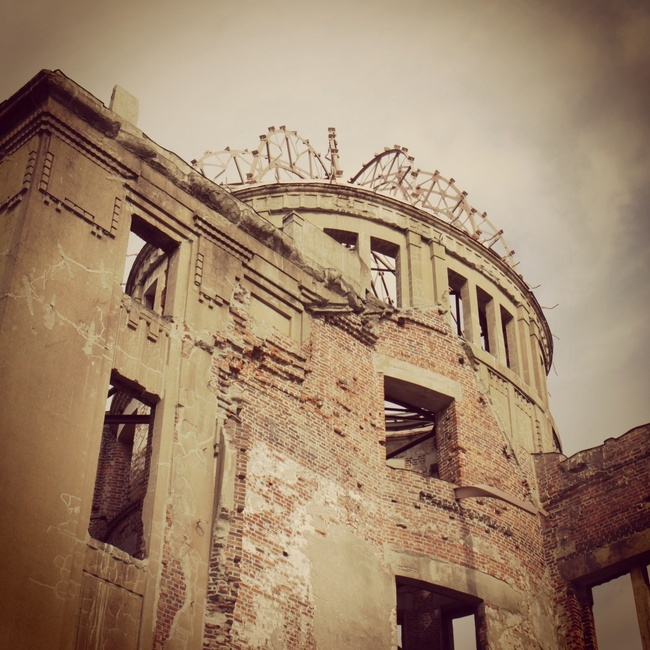 A-bomb Dome via Evan Chakroff