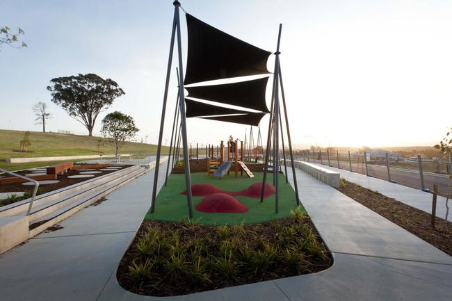 Jacaranda Park in Glenmore Ridge, Western Sydney, Australia by JMD Design