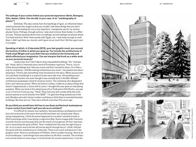MAS Context Narrative. Images Come First (spread) © MAS Context