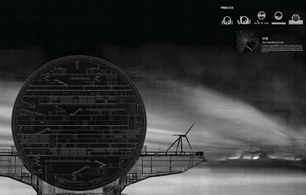 Special Mention/Mobile Architecture: Evacuation Sphere: Saving Japan from Disaster, Jeong Youngjin, Korea