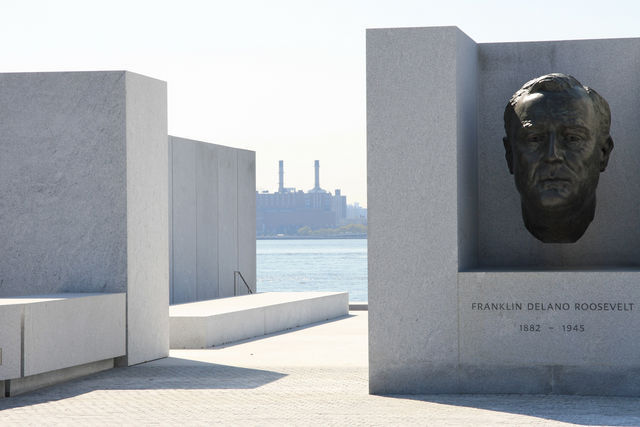 Four Freedoms Park via James S. Russell:Bloomberg