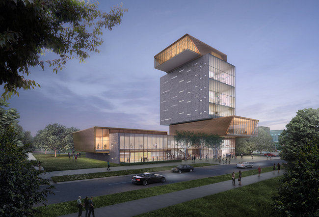 DS+R's rendering of the Rubenstein Forum. Image: Courtesy of Diller Scofidio + Renfro
