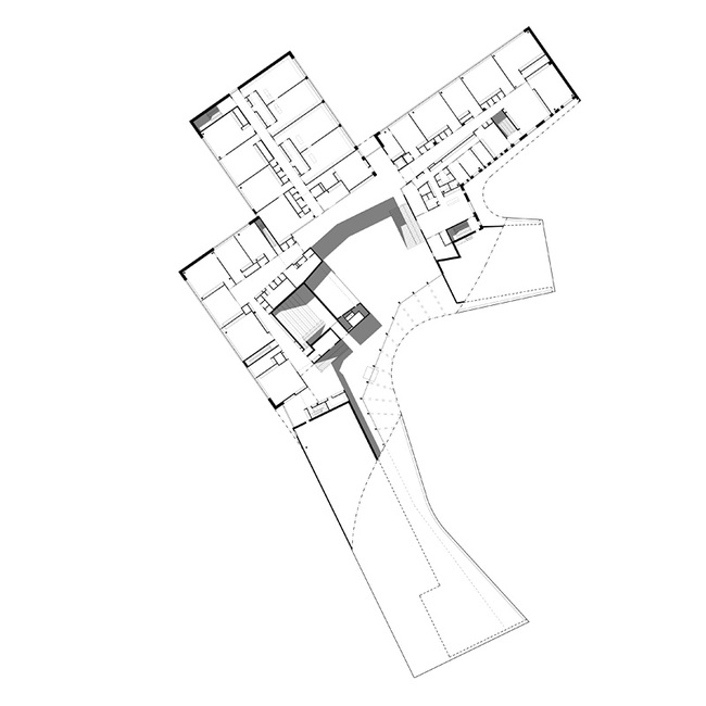 Plan 2nd floor (Image courtesy of Verstas Architects)