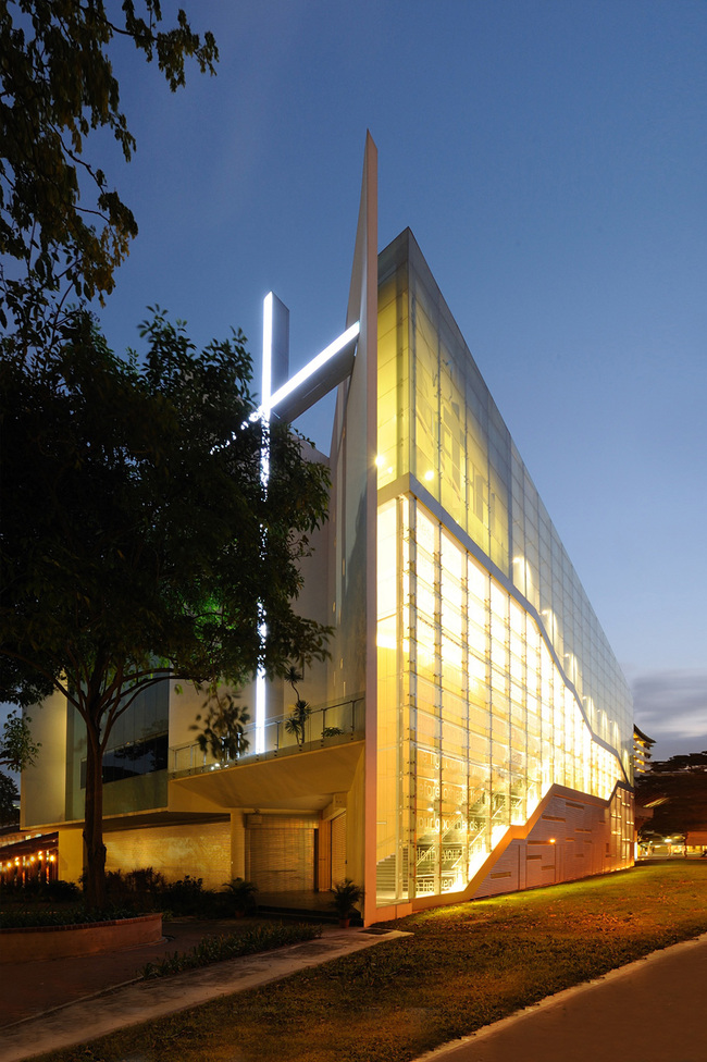 Shortlisted in the Religious Buildings Category: Bethel Assembly of God Church in Singapore by LAUD Architects Pte (Photo courtesy of World Architecture Festival)