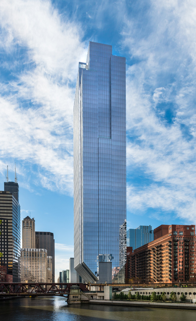 Goettsch Partners Officially Debuts New 54 Story Office