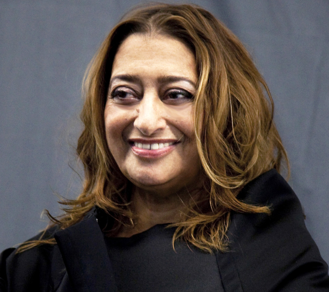 Zaha Hadid, image via miami.curbed.com