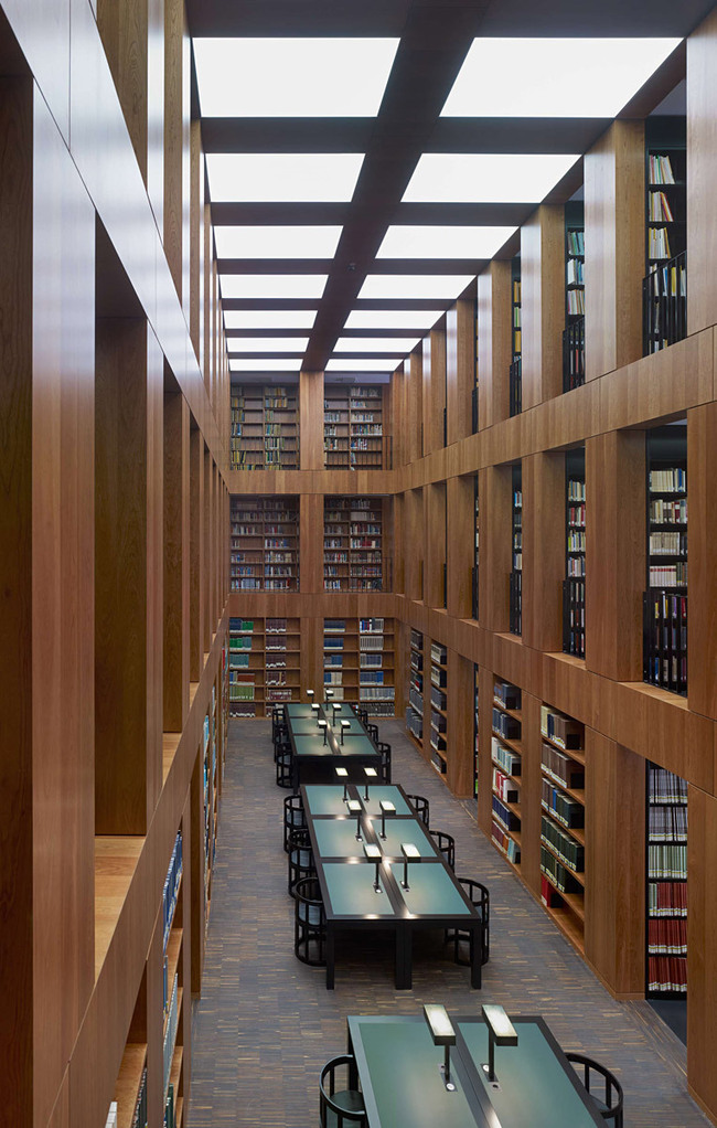 Folkwang Library (view of the reading room) Photo- Stefan Müller