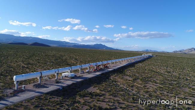 Via Hyperloop One