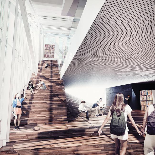 Interior rendering (Image: Sunggi Park)