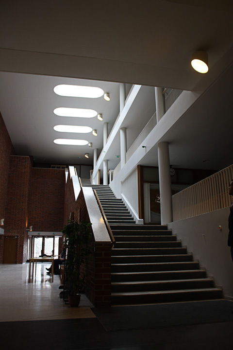 Interior hall at the Jyväskylä University