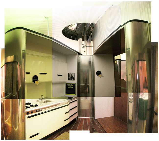Dymaxion—kitchen