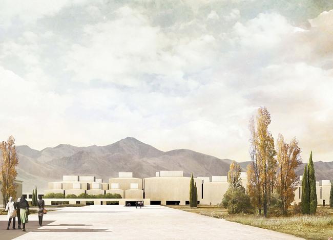 Second Prize: Mansilla + Tuñón Arquitectos, Spain