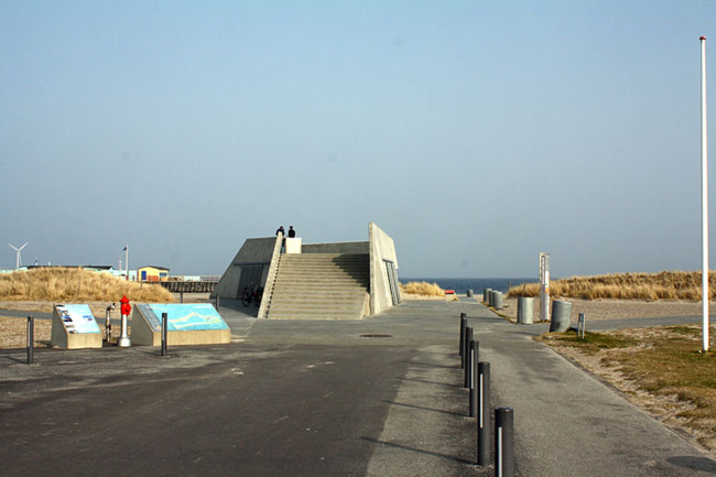 Beach bunker in Copenhagen
