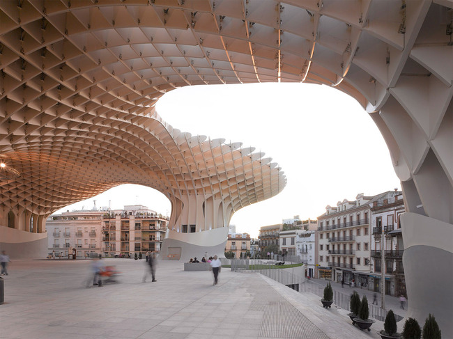 Metropol Parasol, Seville, Spain; J. Mayer H. (Photo: David Franck)
