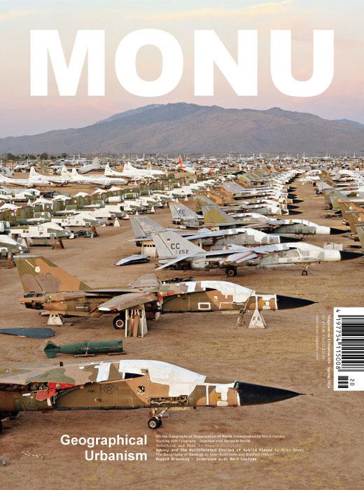 "Cover of MONU #20 (Cover: Image ""AMARC#3; Tucson, Arizona, USA, 2006"" from Edward Burtynsky's contribution ""Seduction and Fear"". Photo ©Edward Burtynsky, courtesy Nicholas Metivier Gallery, Toronto/ Flowers, London.)"