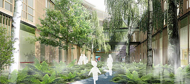 Visualization, Image: Henning Larsen Architects