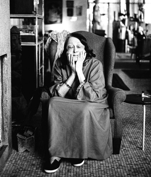 Lina Bo Bardi, 1991. [Photo by Juan Esteves]