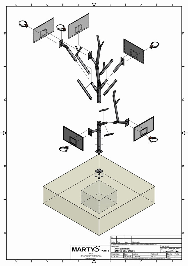 L'ARBRE A BASKET (schematics) via a/LTA architectes